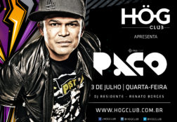 HÖG Club – Flyer (Paco)