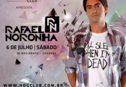 HÖG Club – Flyer (Rafael Noronha)