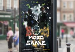 Video Game Projekt – Poster Lançamento