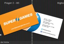Loja Super Games – Cartão de Visita