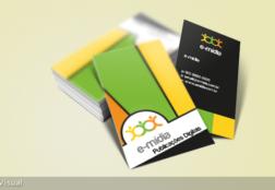 e-mídia – Cartão de Visita
